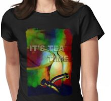 Tea time dreaming (T-Shirt) Womens Fitted T-Shirt