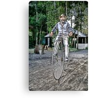 Penny Farthing Lusicart Canvas Print