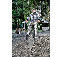 Penny Farthing Lusicart Photographic Print
