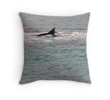 And thereby hangs a tail Throw Pillow