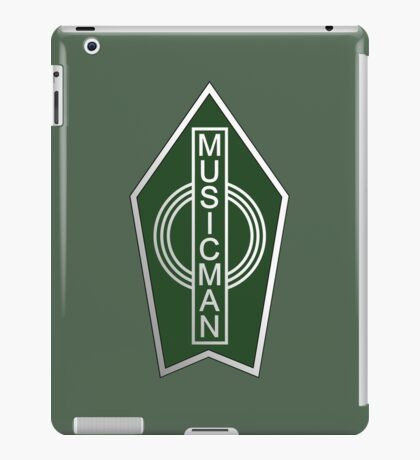 Musicman Tag iPad Case/Skin