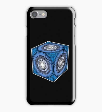 "Tardis ""Siege Mod"" Blue - Doctor Who iPhone Case/Skin"