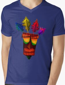Aku Aku Mens V-Neck T-Shirt