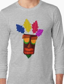 Aku Aku Remastered Long Sleeve T-Shirt