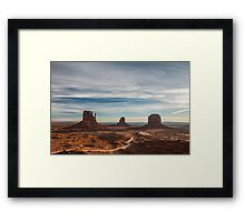 Valley of the Rocks - Monument Valley, Arizona Framed Print