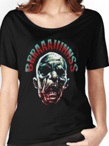 More Brraaaiiinnss Women's Relaxed Fit T-Shirt