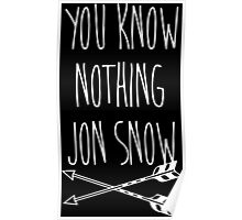 You Know Nothing II Poster
