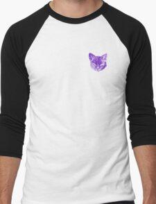 Cult Cutie Cat Men's Baseball ¾ T-Shirt