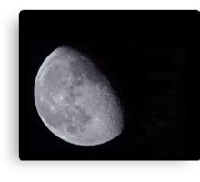 shoot the moon Canvas Print