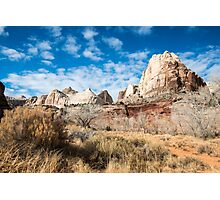 Navajo Dome - Capitol Reef National Park, Utah Photographic Print