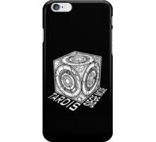 "Tardis ""Siege Mod"" Title - Doctor Who iPhone Case/Skin"