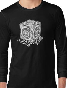 "Tardis ""Siege Mod"" Title - Doctor Who Long Sleeve T-Shirt"