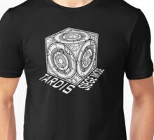 "Tardis ""Siege Mod"" Title - Doctor Who Unisex T-Shirt"