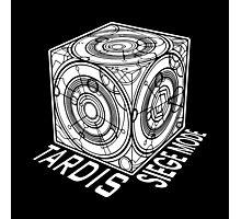 "Tardis ""Siege Mod"" Title - Doctor Who Photographic Print"
