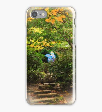 A Fairy In The Woods iPhone Case/Skin