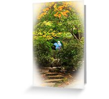 A Fairy In The Woods Greeting Card