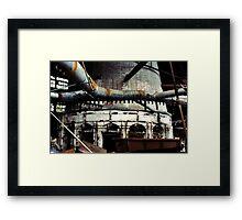 Glass Factory Framed Print