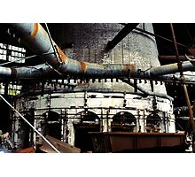 Glass Factory Photographic Print