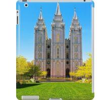 Salt Lake LDS Temple iPad Case/Skin