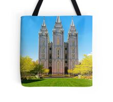 Salt Lake LDS Temple Tote Bag