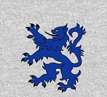 Rampant Lion Blue Unisex T-Shirt