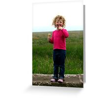 Sheer delight Greeting Card
