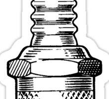 Spark Plug Sticker
