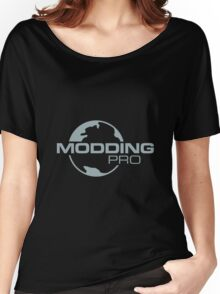 Modding Pro (Large Design) Women's Relaxed Fit T-Shirt