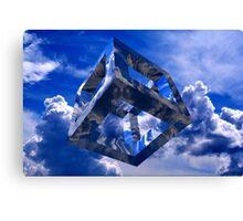 Sky Cube Canvas Print