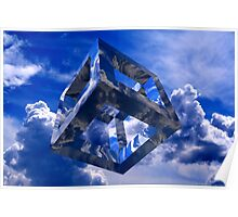 Sky Cube Poster