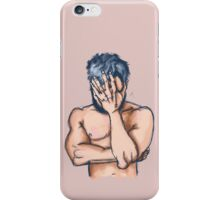 Blue Beard iPhone Case/Skin