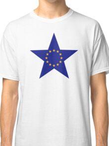 Europe EU star flag Classic T-Shirt