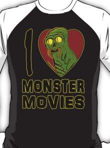 I Love Monster Movies T-Shirt