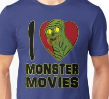 I Love Monster Movies Unisex T-Shirt