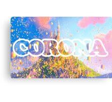 Corona Metal Print