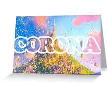 Corona Greeting Card