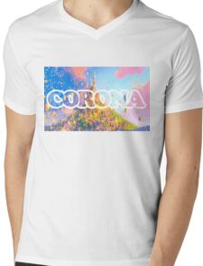 Corona Mens V-Neck T-Shirt