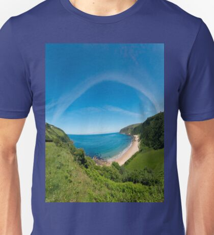 Kinnagoe Bay Panorama T-Shirt