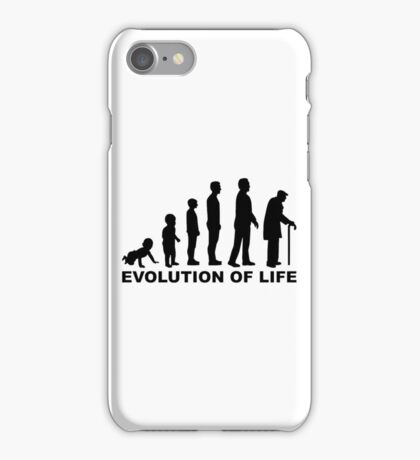 Evolution of Life iPhone Case/Skin
