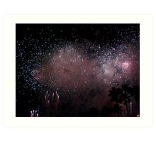 Firework Splendor Art Print