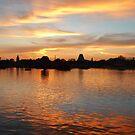 Brilliant Sunset by Celeste Thinks