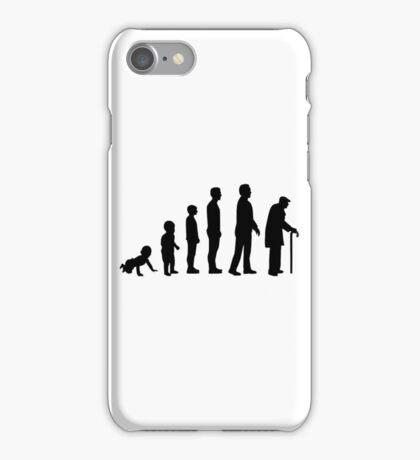 Evolution grandfather iPhone Case/Skin