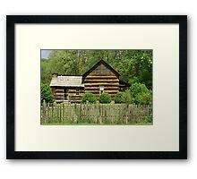 Davis-Queen House Framed Print