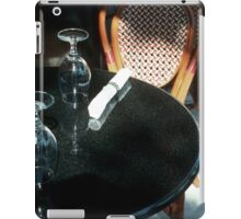 Open Table for Dinner iPad Case/Skin