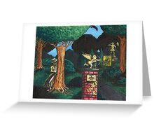 Tromeo & Juliet Memorial Park Greeting Card