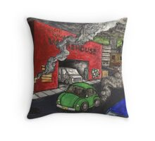 Big Gus' Sugar Cookie Warehouse Throw Pillow