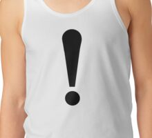 Exclamation point Tank Top