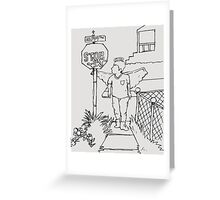 A Halo in the Hood Greeting Card