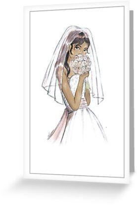 Blushing Bride Sidney by veronicamarche