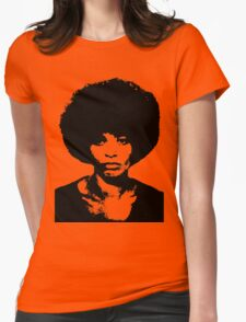 ANGELA DAVIS Womens Fitted T-Shirt